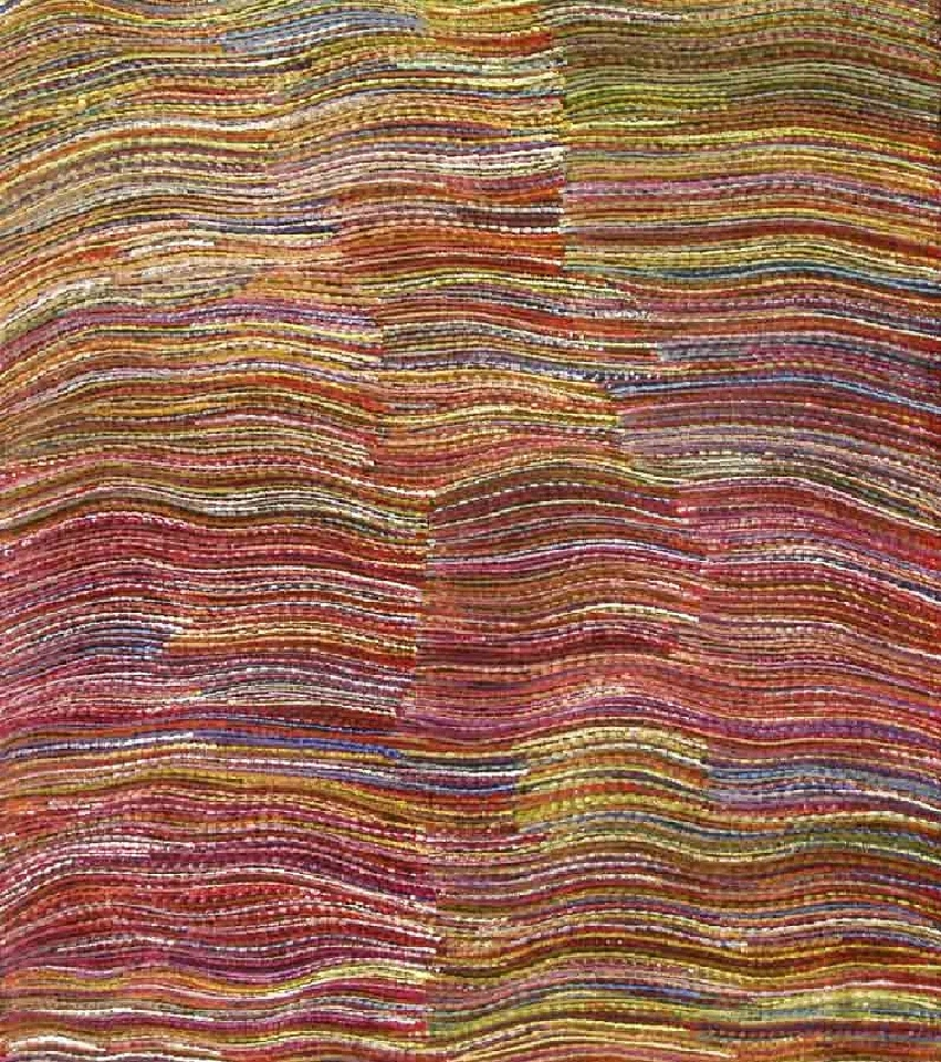 Yam Root Dreaming - APPT131 by Anna Price Petyarre