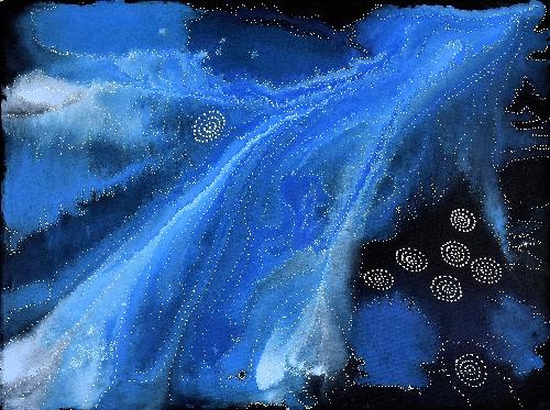 Napaljarri-warnu Jukurrpa (Seven Sisters Dreaming) - ATGWU3125/20