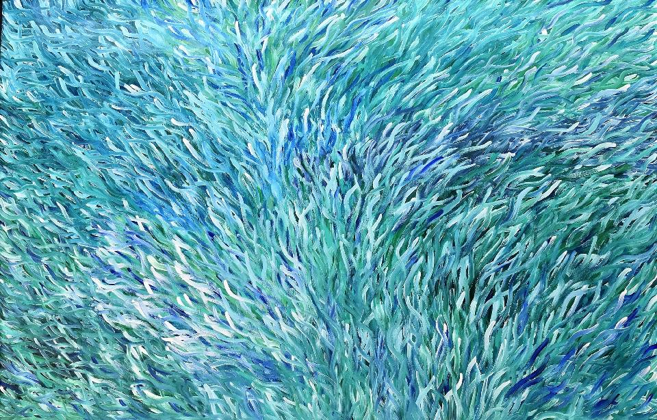 Grass Seed - BWEG0296 by Barbara Weir