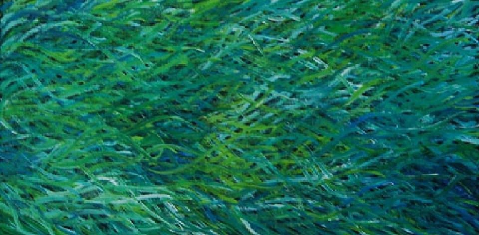 Grass Seed - BWEAR1203 by Barbara Weir
