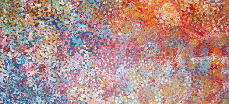 Untitled - BPIB006 by Bessie Petyarre