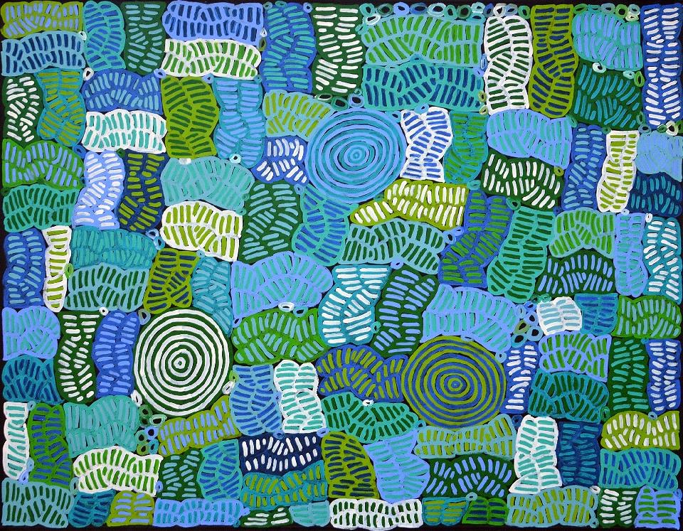 Awelye and Bush Melon - BMBG0696 by Betty Mbitjana