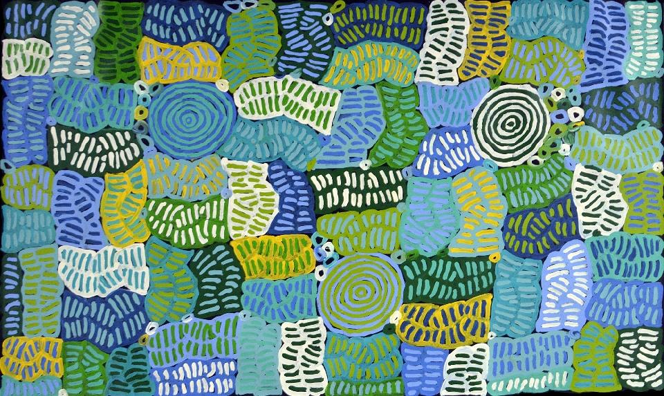 Awelye and Bush Melon - BMBG0766 by Betty Mbitjana