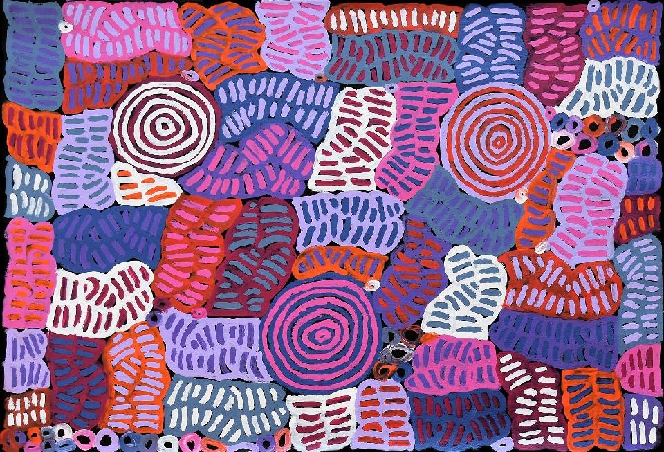 Awelye and Bush Melon - BMBG0786 by Betty Mbitjana