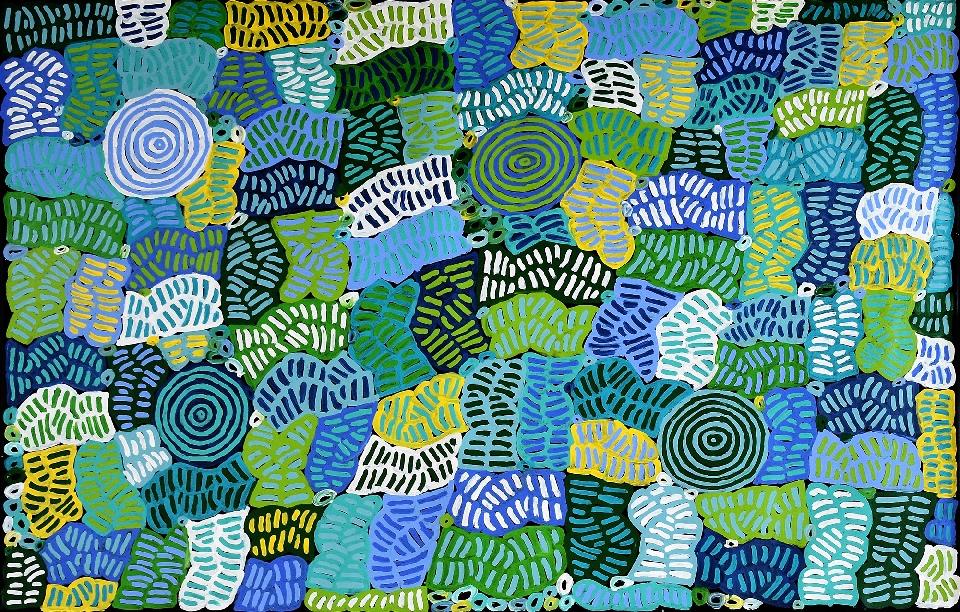 Awelye and Bush Melon - BMBG0775 by Betty Mbitjana