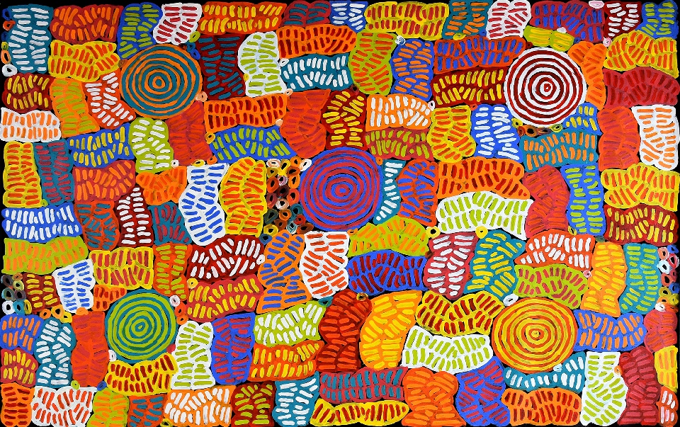 Awelye and Bush Melon - BMBG0798 by Betty Mbitjana