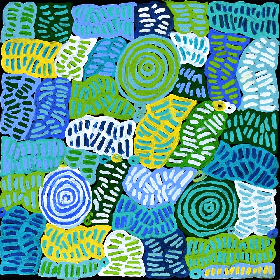 Awelye and Bush Melon - BMBG0764 by Betty Mbitjana