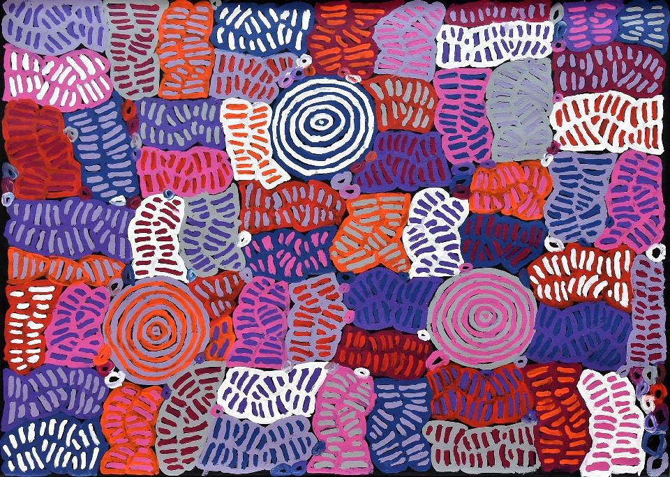 Awelye and Bush Melon - BMBG0784 by Betty Mbitjana