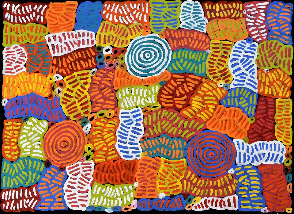 Awelye and Bush Melon - BMBG0793 by Betty Mbitjana
