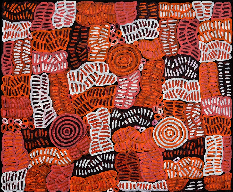 Awelye and Bush Melon - BMBG0636 by Betty Mbitjana