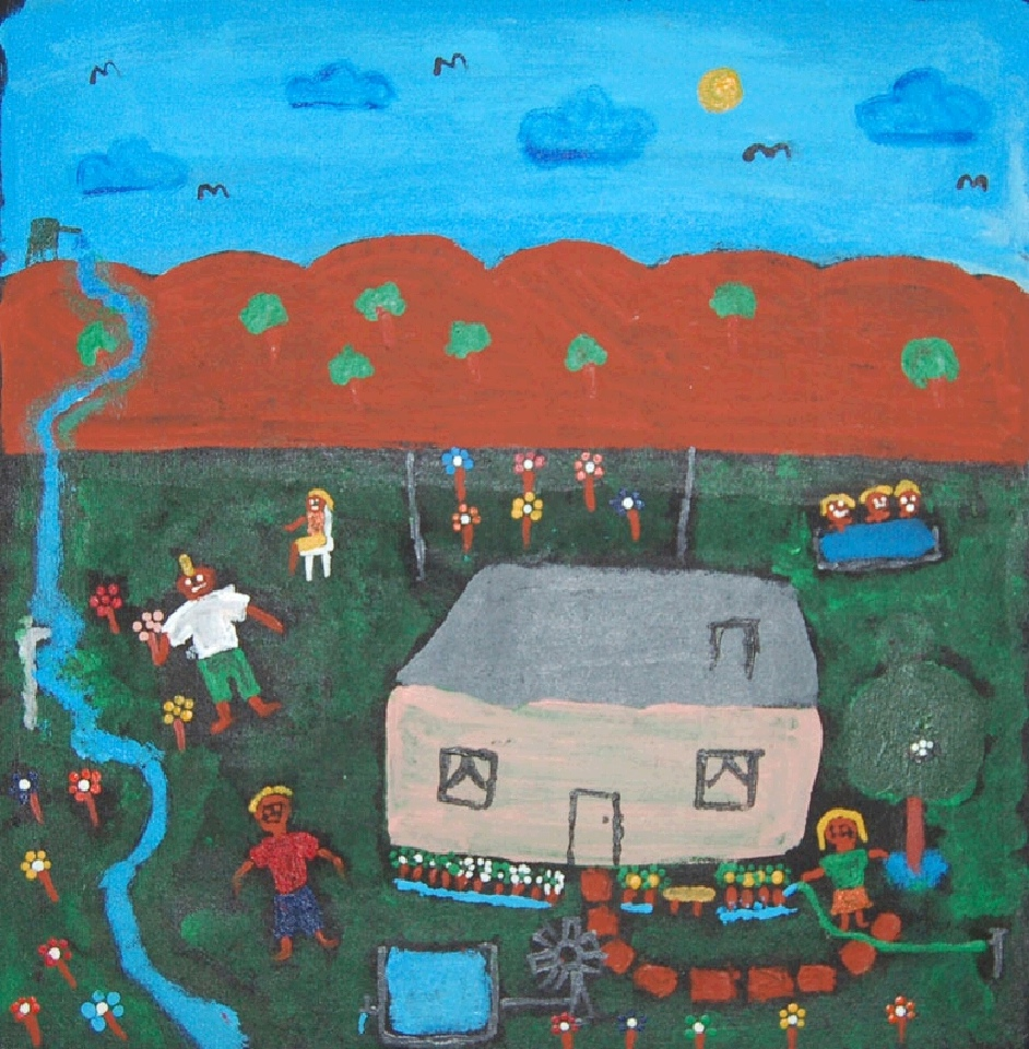 Athekerre - Harry's Creek - BPATY3594 by Brendan Palmer