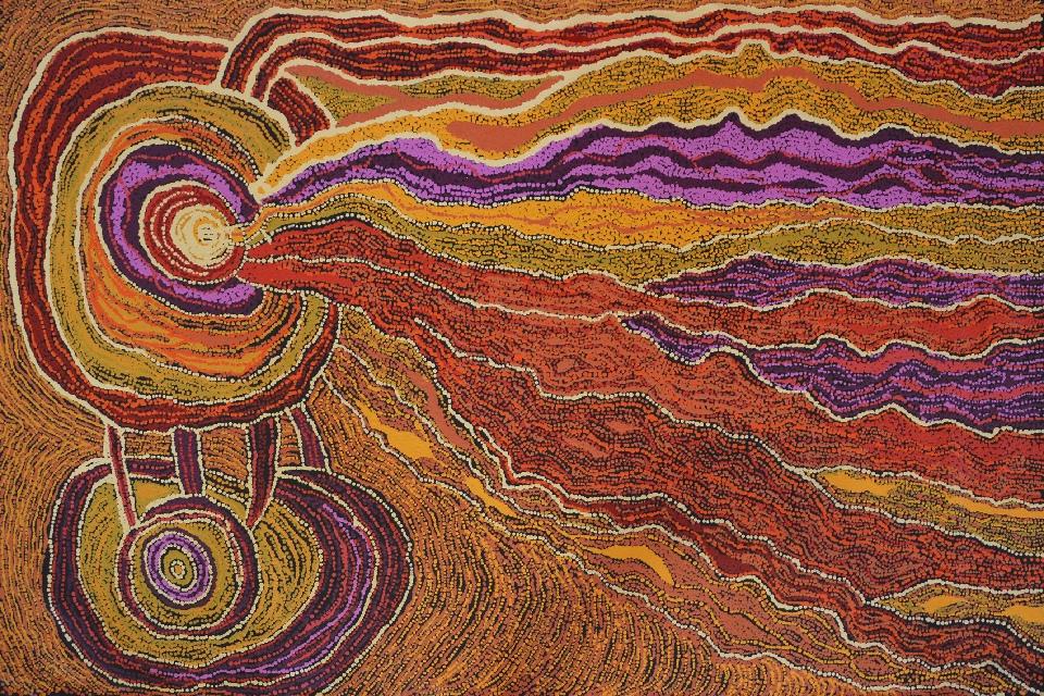 Minma Marlilu Tjukurrpa - CAKG0001 by Carolanne Ken