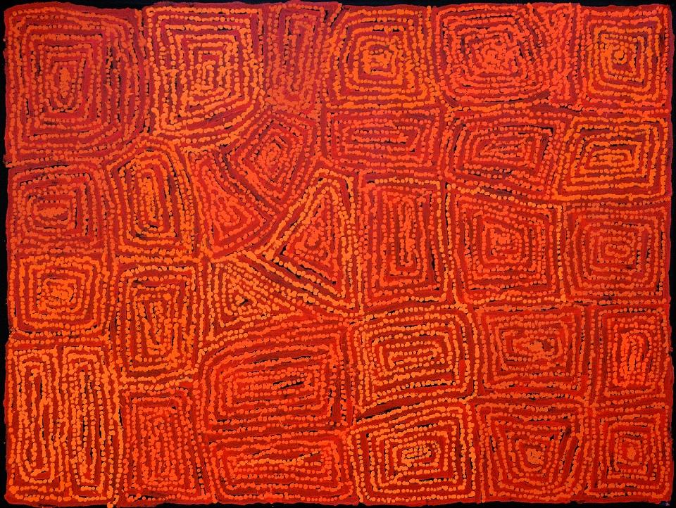 Tingari - Karrkurritinytja (Lake MacDonald) - GWTG0319 by George Ward Tjungurrayi