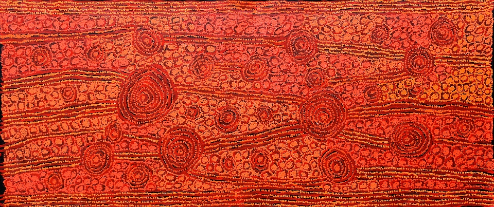 Tingari - Karrkurritinytja (Lake MacDonald) - GWTG0297 by George Ward Tjungurrayi