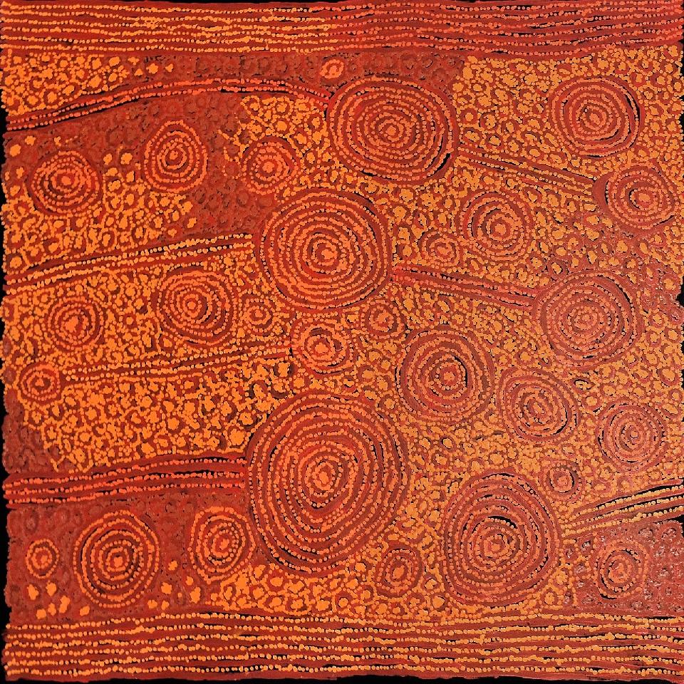 Tingari - Karrkurritinytja (Lake MacDonald) - GWTG0178 by George Ward Tjungurrayi