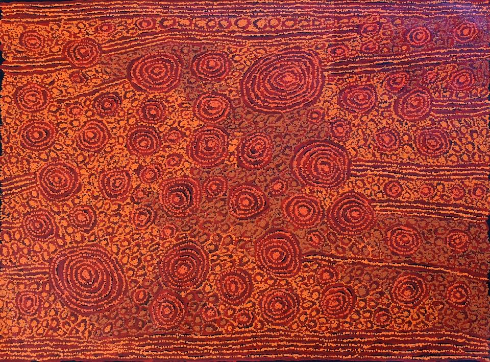 Tingari - Karrkurritintja (Lake MacDonald) - GWTG0232 by George Ward Tjungurrayi