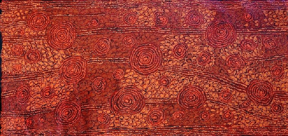 Tingari - Karrkurritintja (Lake MacDonald) - GWTG0282 by George Ward Tjungurrayi