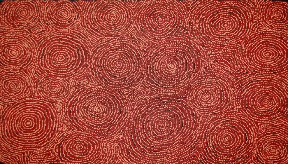 Tingari - Karrkurritinytja (Lake MacDonald) - GWTG0020 by George Ward Tjungurrayi