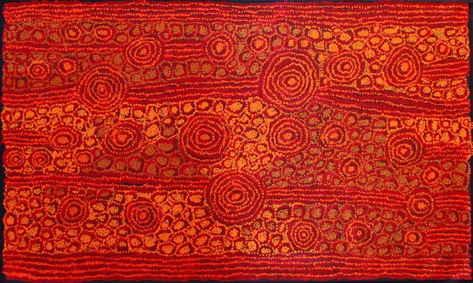 Tingari - Karrkurritinytja (Lake MacDonald) - GWTG0257 by George Ward Tjungurrayi