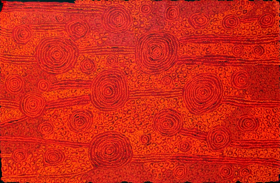 Tingari - Karrkurritinytja (Lake MacDonald) - GWTG0223 by George Ward Tjungurrayi