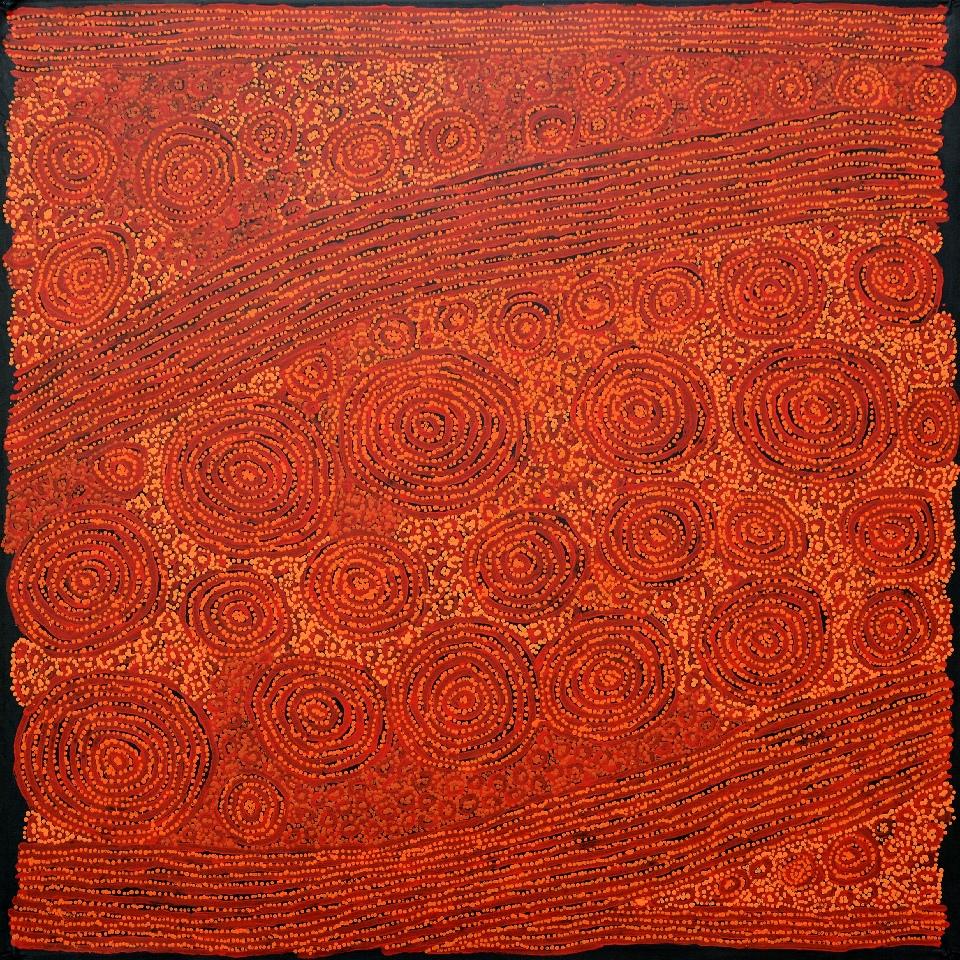 Tingari - Karrkurritinytja (Lake MacDonald) - GWTG0063 by George Ward Tjungurrayi