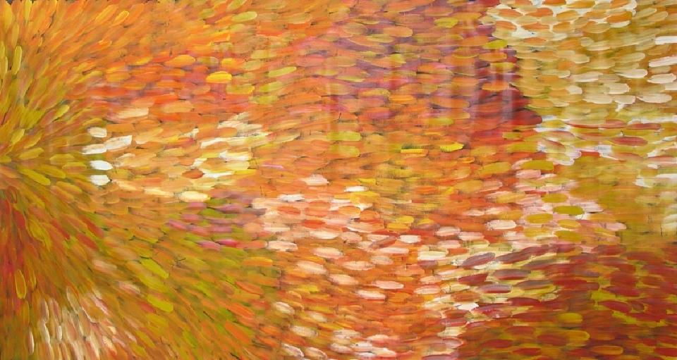 Bush Medicine Leaves - GPEJ5766 by Gloria Petyarre
