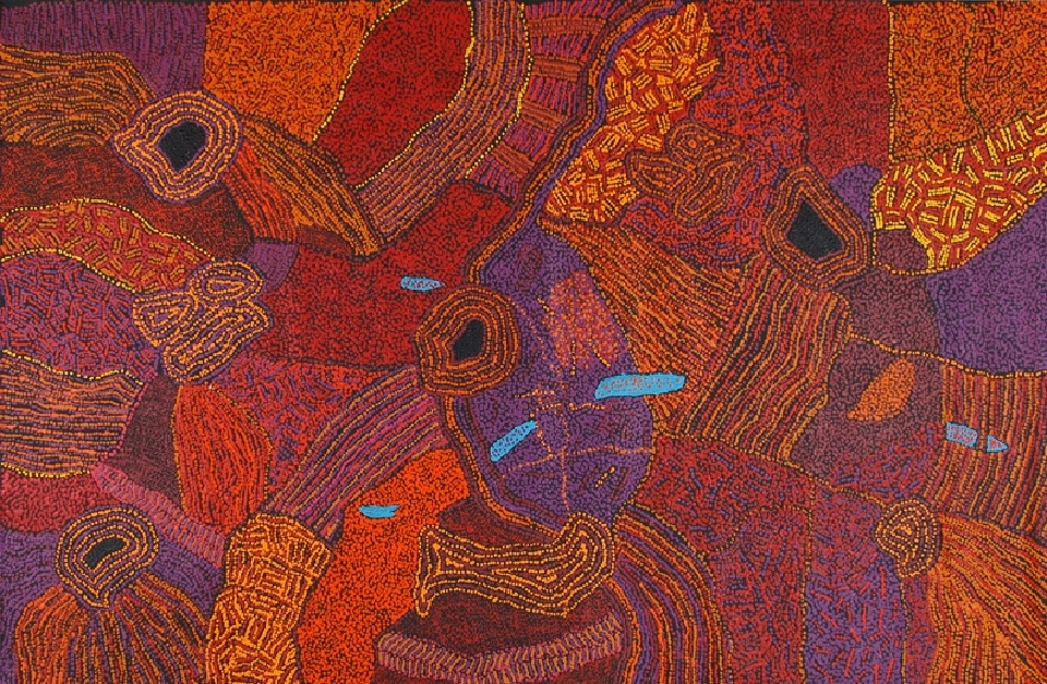 My Father's Country - GWNG0020 by Gracie Ward Napaltjarri