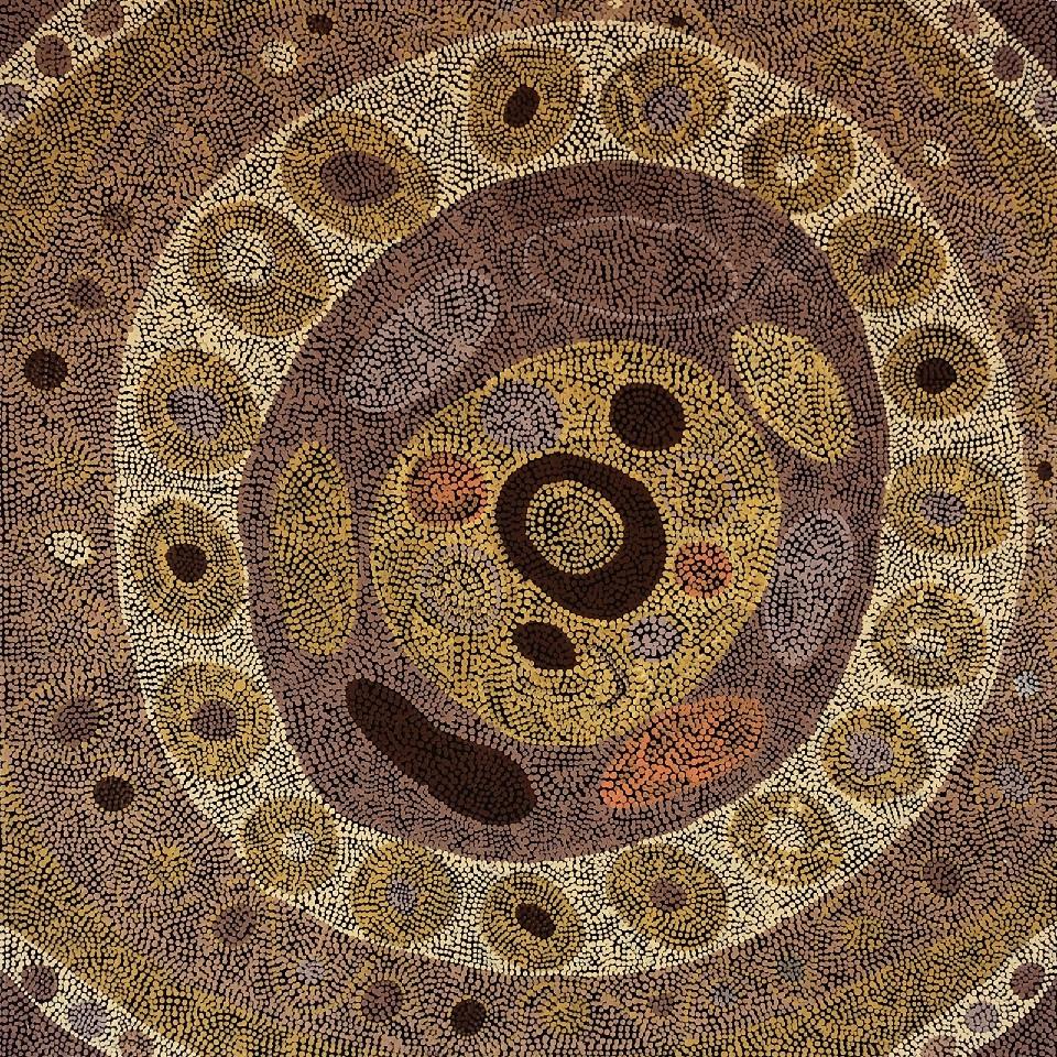 Wupun (Sun Mat) - HMWG0008 by Heath Minjin Wilson