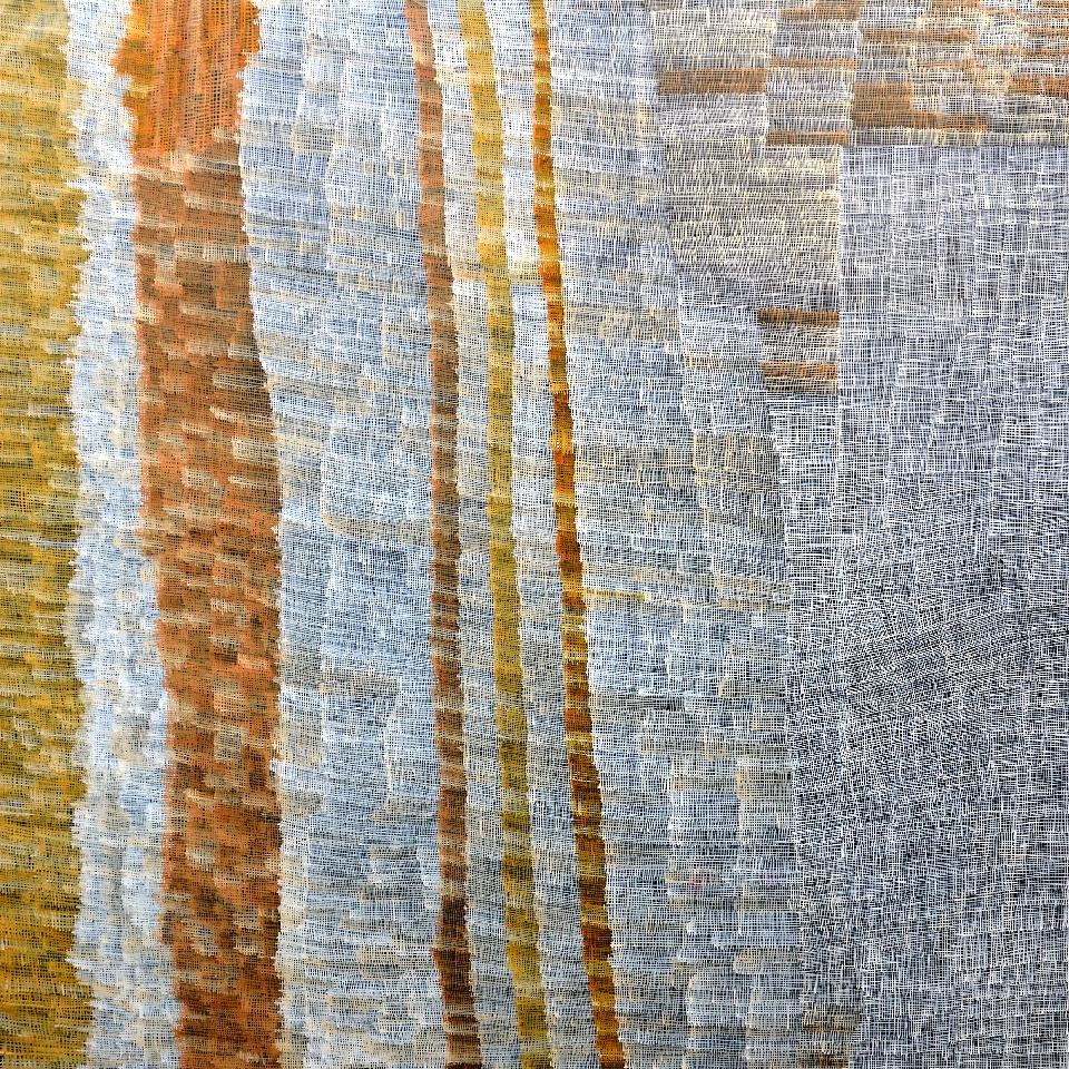 Syaw (Fish Net) - HMCG0113 by Helen McCarthy Tyalmuty