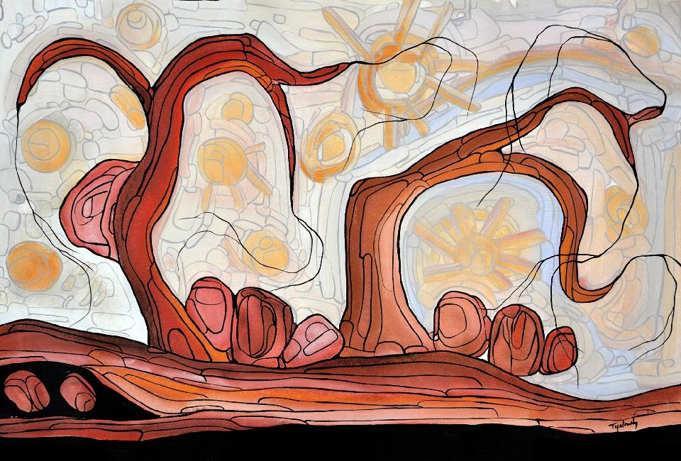 Marrawuk (The Dry Season) - HMCG0144 by Helen McCarthy Tyalmuty