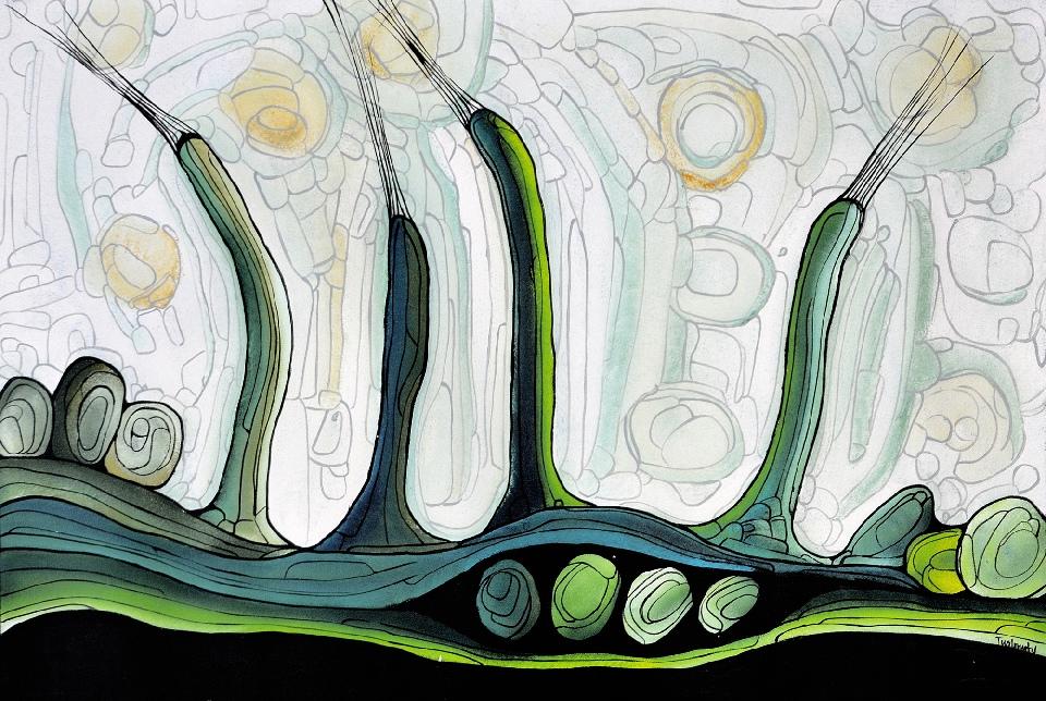 Marrawuk (The Wet Season) - HMCG0219 by Helen McCarthy Tyalmuty