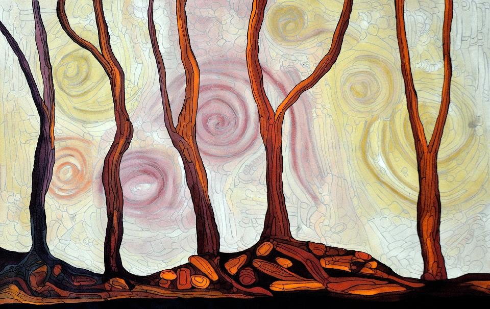 Marrawuk (The Dry Season) - HMCG0220 by Helen McCarthy Tyalmuty