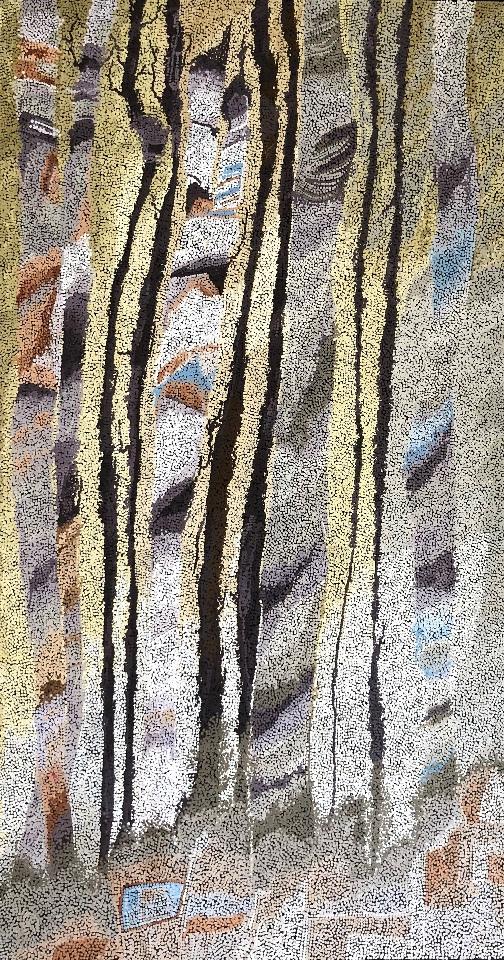 Marrawuk (The Dry Season) - HMCG0127 by Helen McCarthy Tyalmuty