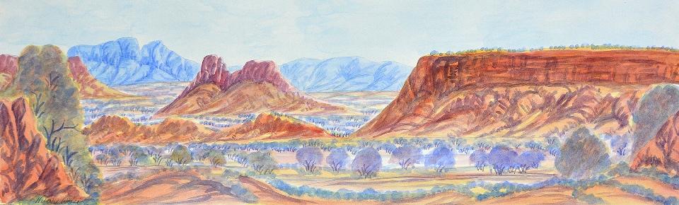West of Haasts Bluff - HWIG0005 by Hilary Wirri Japaltjarri