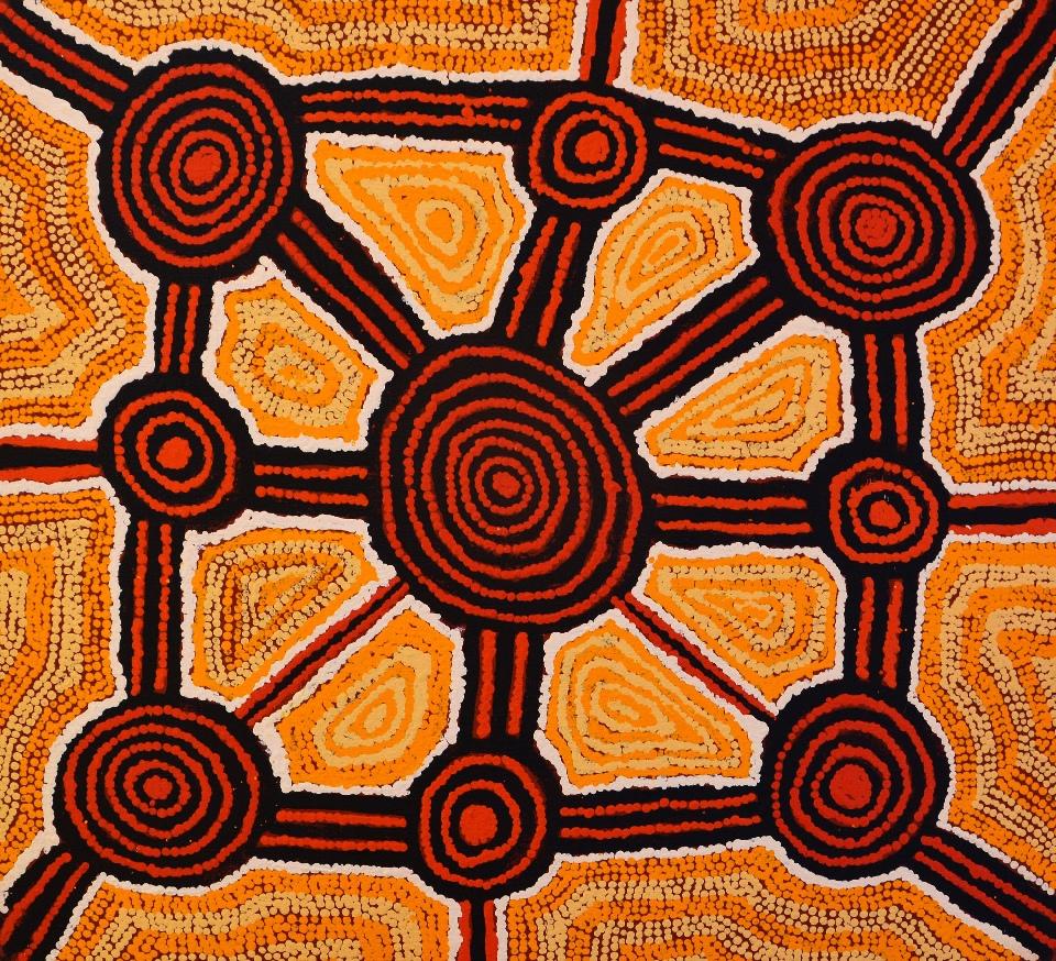 Nginkulwalunya - HT1210007 by Hilary Tjapaltjarri