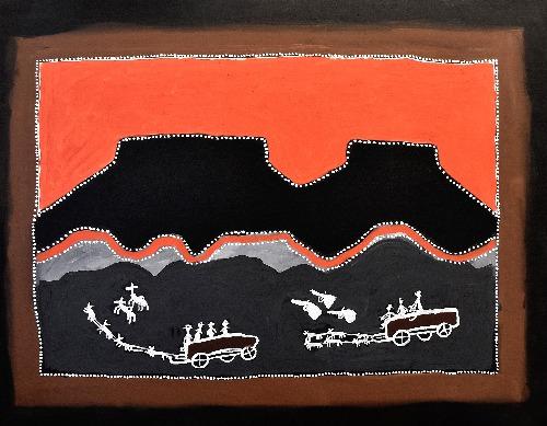 King Leopold Ranges - Donkey Wagons - JDAHF1318