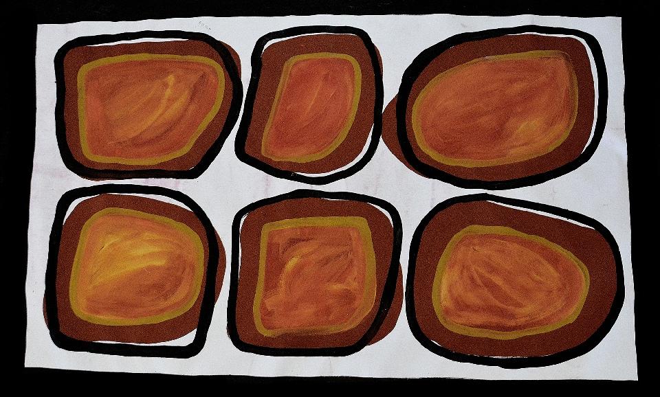 Djalala - Marking Stones - JDAHF1514 by Jack Dale