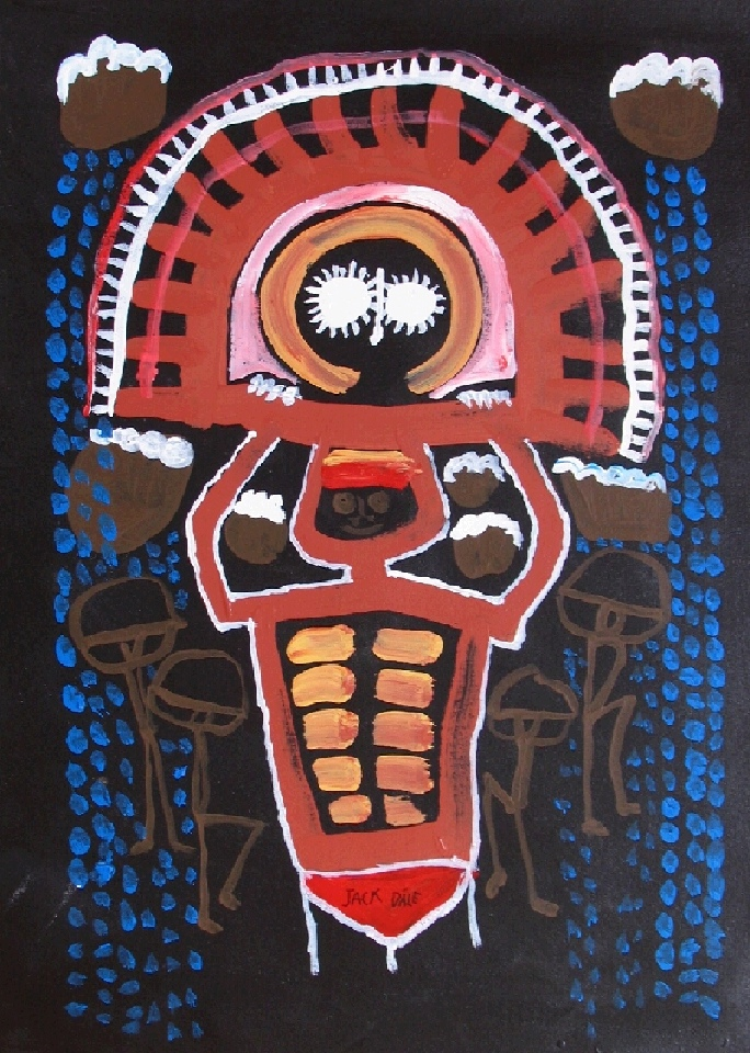 Gulingi Totem - JDAMN012 by Jack Dale