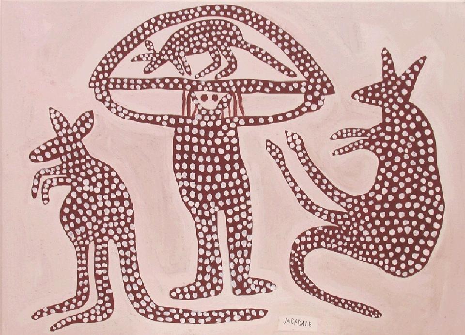 Barro Yarda Totem Djunba - JDAMN020 by Jack Dale