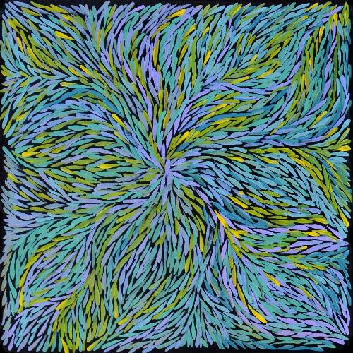 Bush Yam Leaves - JPEG0798