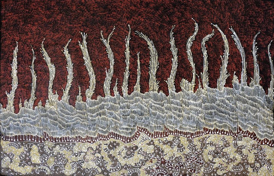 Waru - JNEAR18162 by Jorna Newberry