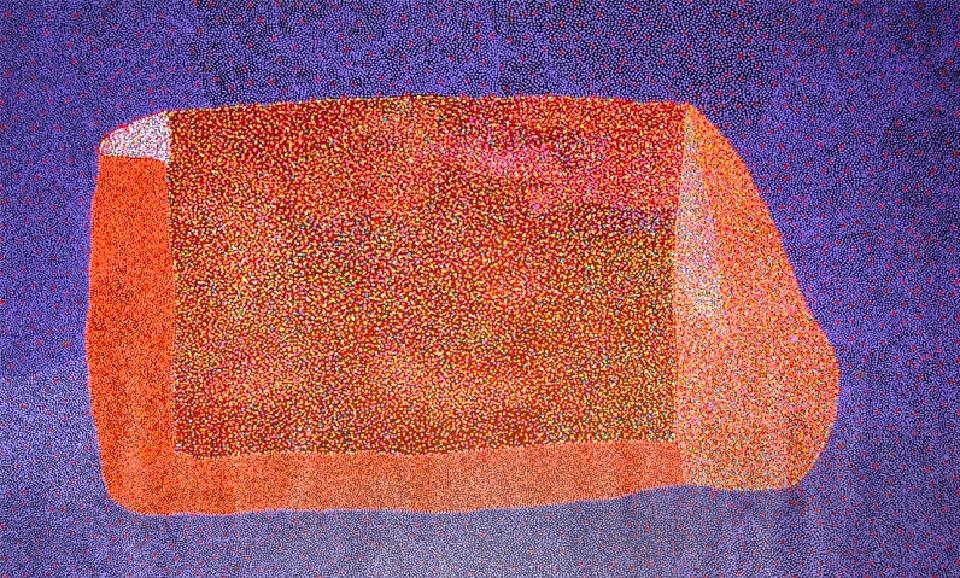 Wild Bush Berries - JPKDA0167 by Josie Petrick Kemarre