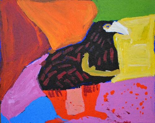 Jurlpu Kuja Kalu Nyinami Yurntumu-wana (Birds That Live Around Yuendumu) - KNBWU5366/17