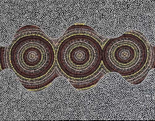 Pamapardu Jukurrpa (Flying Ant Dreaming) - Wartungurru - KNRWU2269/20