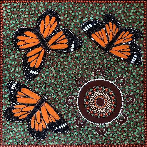 Children Catching Butterflies in Springtime - KBZG0598