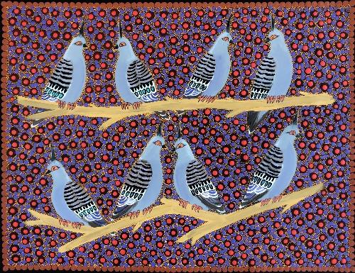 Top Knot Pigeons - KBZG0618