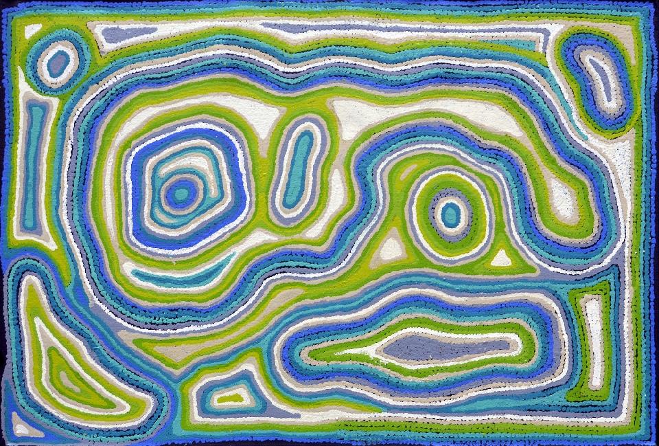 Minma Marlilu Tjukurrpa - KBAG0049 by Kay Baker