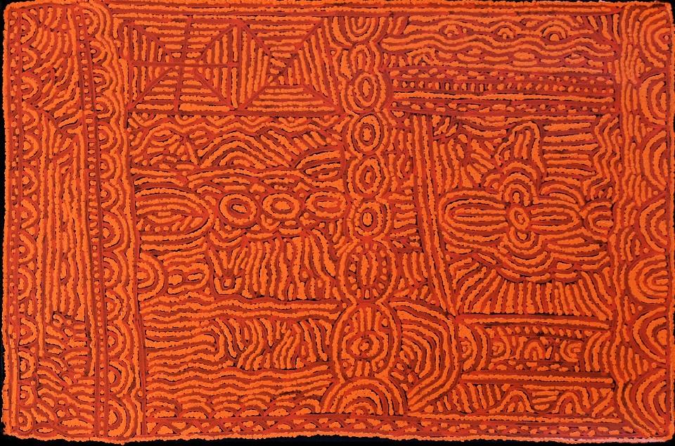 Antanka - LBRG0033 by Lorna Brown Napanangka