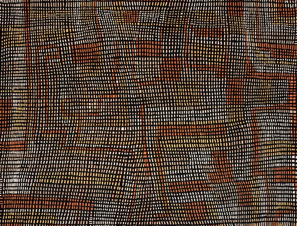 Marrapinti - LNAG0017 by Lorna Ward Napanangka Collaborative