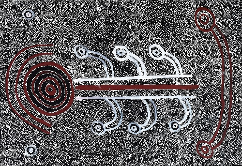 Pikilyi Jukurrpa (Vaughan Springs Dreaming) - MJPWU100/20ny